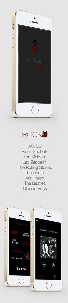 UniRadio Radio Rock 24 h. non stop.  AC/DC - Black Sabbath - Iron Maiden -  Led Zeppelin - The Rolling Stones - The Doors - Van Halen - The Beatles - Classic Rock. www.unostile.com
