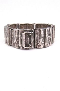 Knud Andersen bark bracelet