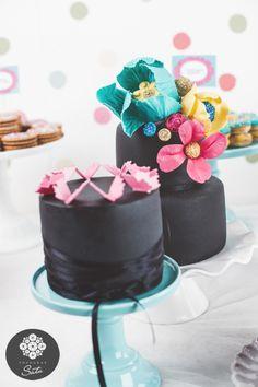 Black pretty cake