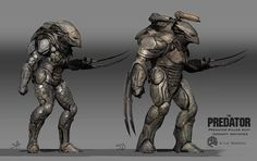 ArtStation - The Predator Predator Killer Sketches, Kyle Brown Alien Vs Predator, Predator Movie 2018, Predator Costume, Predator Alien, Alien Concept Art, Armor Concept, Aliens Colonial Marines, Futuristic Armour, Alien Art