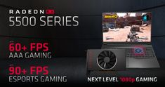 Breaking News: AMD Introduces Radeon RX 5500 Series Graphics - ShopzadaPH Tech Reviews 128 Bit, Gaming Pcs, Gaming Desktop, Price Point, Tech, The Incredibles, Graphics, How To Plan, Graphic Design