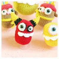 crochet devil surprise eggs #surpriseegg #üei #kinderüberraschung #häkeln #crochet #devil #teufel