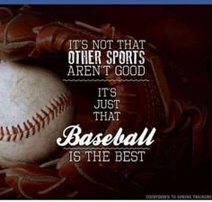 Baseball ⚾️ The BEST!!