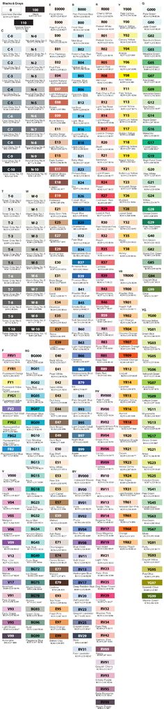 RGB codes - not complete