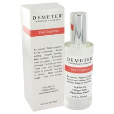 Demeter by Demeter Pink Grapefruit Cologne Spray 4 oz (Women). The scent is always in the name with Demeter fragrances.