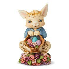 Cherished Teddies Easter Figurine Adddie-12922