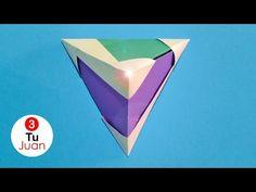 Origami Modular - Pirámide de Papel | JuanTu3 - YouTube