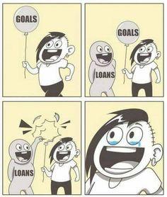 Student loan debt be like