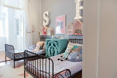 Kid's room with a vintage touch by Petite Vintage Interiors | 10 Gorgeous Girls Rooms Part 4 - Tinyme Blog