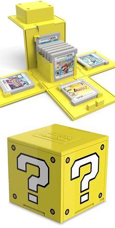 Question Block 3DS Cartridge Case! #nintendo