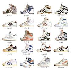 Vintage Adidas Sneakers