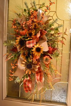Flower Swags for Over Doors | Add it to your favorites to revisit it later.