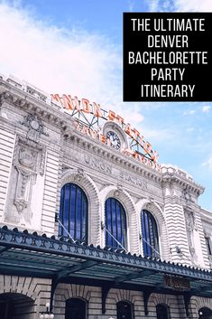 Throwing a bachelorette party in Denver? Denver bachelorette parties offer the perfect mix of great food, drinks and outdoor activities. Spoil your bride by planning the ultimate Denver bachelorette party itinerary using this complete guide! Usa Travel Guide, Travel Advice, Travel Usa, Travel Guides, Travel Tips, Globe Travel, Solo Travel, Places To Travel, Travel Destinations