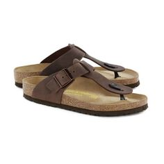 1ce1e2c0504 Birkenstock - Medina - Natural Leather in Habana (Classic Footbed - Suede  Lined)