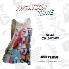 Encuentra en nuestras tiendas los #outfit perfectos para tus vacaciones #VacationTime #KenzoJeans  Conoce más en www.kenzojeans.com.co