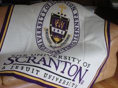 The University of Scranton University Of Scranton, Pennsylvania, Custom Made, College, University, Colleges