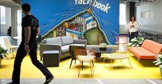 Não sei você, mas sempre achei que trabalhar em um ambiente criativos ajuda a desenvolver novas ideias.  O pessoal do Facebook também pensa ...
