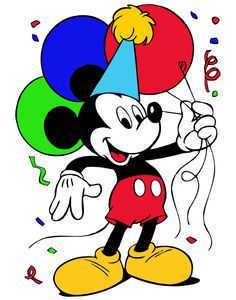 This is best Mickey Mouse Birthday Clipart Mickey Mouse Birthday Clipart Free Clipart Images for your project or presentation to use for personal or commersial. Disney Mickey Mouse, Happy Birthday Mickey Mouse, Mickey Mouse Y Amigos, Mickey Mouse Clipart, Mickey E Minie, Mickey Mouse And Friends, Mickey Mouse Clubhouse, Disney Cartoon Characters, Disney Cartoons