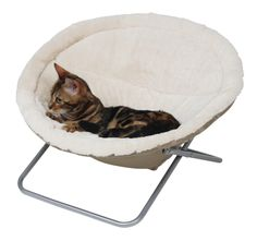 TheSleeping Nest Alice is a gorgeously plush cat bed which your feline friend will literally melt into!  With a cosy, cuddly cover of plush fabric, your feline friend will be in kitty heaven as they indulge in one of the most relaxing catnaps that they will have ever experienced before!  At a height of 35 cm, theSleeping Nest Alice is raised off the ground which provides excellent circulation of air around your pets to make them feel as comfortable as physically possible.  On average…