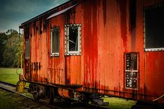 Old Train Car at Prater's Mill for Dalton NGCCC Shoot Out