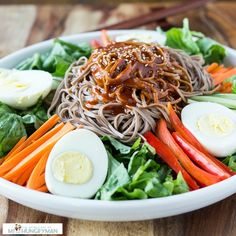 Spicy Soba Noodle recipe as well as a recap on orientation week for my dietetic internship. Soba Noodles, Pasta Noodles, Vegetarian Recipes, Cooking Recipes, Diet Recipes, Buckwheat Noodles, Asian Recipes, Ethnic Recipes, Noodle Recipes