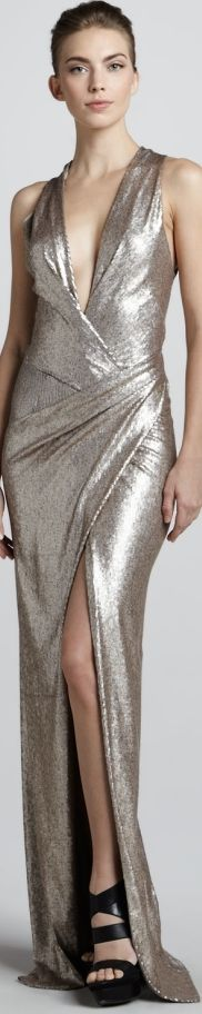 DONNA KARAN, my oh my..where could I wear this? just beautiful