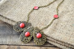 Luxurious Filigree Necklace | AllFreeJewelryMaking.com