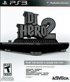 DJ Hero 2 (Game Only) PS3 [Brand New]