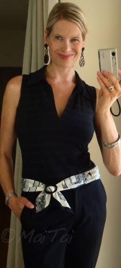 'Jeu des Omnibus et Dames Blanches' Hermès scarf