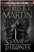 Game of Thrones. I've been listening to the audio version of the books.  I didn't think I was going to like it.  I LOVE IT!  If you like the HBO version, then you'll like the books.  HBO takes the book almost word for word.