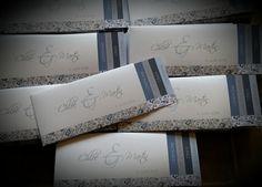 Faire-part - Mariage - Liberty Bleu - Dessine-moi une etoile
