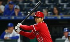Angels phenom Shohei Ohtani is also very fast - April 13, 2018.  Angels star Shohei Ohtani's numbers both at the plate and on the mound are astounding through his first nine games in the majors. He's 2-0 on the mound with a 2.08 ERA, and as a DH he's batting .346 and has a slugging percentage of .769, the second-best mark in baseball among batters with at least 20 at-bats. The Angels are 8-1 in games in which Ohtani plays.