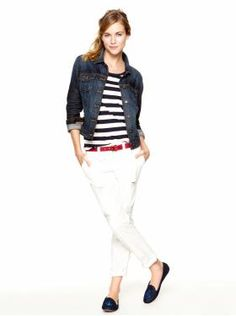 Women's Clothing: Women's Clothing: We ♥ Outfits | Gap  Love the denim jacket