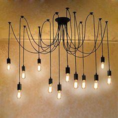 Fuloon Vintage Edison Multiple Ajustable DIY Ceiling Spid... https://www.amazon.com/dp/B010FFZJ64/ref=cm_sw_r_pi_dp_IocFxb4QNWXRQ