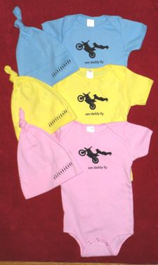 Onesie motocross. Our future children are doomed to be on bikes... its in their blood!