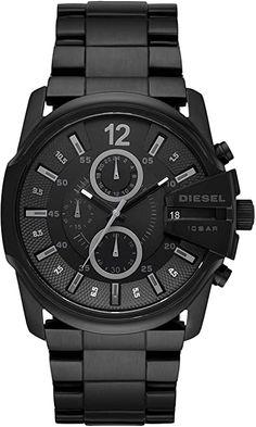 Amazon.com: Diesel Men's Master Chief Quartz Stainless Steel Chronograph Watch, Color: Black (Model: DZ4180): Diesel: Watches Diesel, Herren Chronograph, Black Models, Casio Watch, Cool Watches, Michael Kors Watch, Quartz, Stainless Steel, Master Chief
