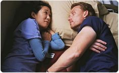 """Sandra Oh and Kevin McKidd Discuss Cristina and Owen: """"Divorce Is An Opportunity Not An End"""" Greys Anatomy Couples, Grays Anatomy Tv, Grey Anatomy Quotes, Cristina And Owen, Cristina Yang, Sandra Oh, Kevin Mckidd, Grey's Anatomy Tv Show, Grey Tattoo"""