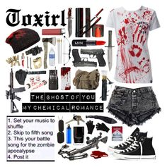 """""""Zombie Apocalypse"""" by toxirl ❤ liked on Polyvore"""