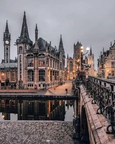 Gent, the medieval city of lights ✨😍 Courtesy of Founders: 📍Gent, Belgium 🇧🇪 Tag your best travel… Places Around The World, The Places Youll Go, Places To Visit, Around The Worlds, City Aesthetic, Travel Aesthetic, Destination Voyage, Travel Abroad, Belle Photo