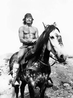 Chato's Land, Charles Bronson, 1972 Sports Photo - 46 x 61 cm