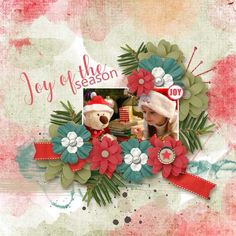Home For The Holidays } by LorieM Designs