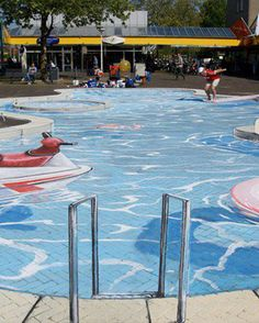 Amazing Chalk Swimming Pool