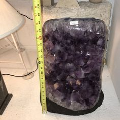 "86 LBS Amethyst Cathedral- 19"" Amethyst Crystal Geode from Uruguay RAW Amethyst Feng Shui Amethyst Cluster Grape Purple Crystals"
