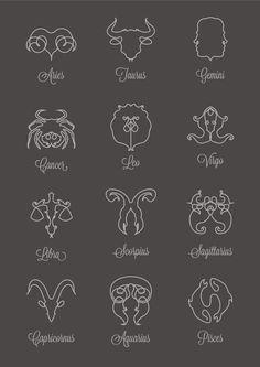 Zodiac doodles More
