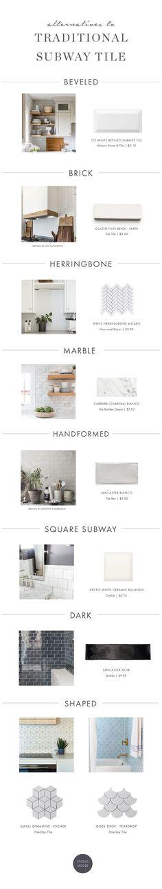 Alternatives to traditional subway tile | Studio McGee Blog