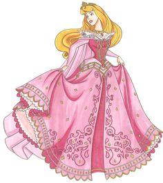 Princesa aurora en png - Imagui