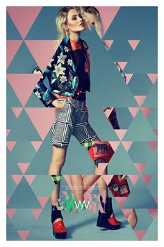 Mixed Medley by Tim Jarvis, via Behance