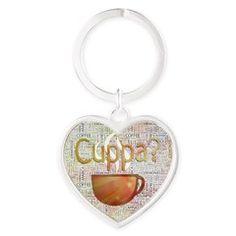 Cuppa? #Coffee Art Keychains $22 #barista