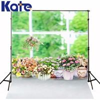 150X200Cm Kate Flowers Backgrounds Colorful Flowers Photography Backdrop Indoor Balcony Windows Newborn Photography Props