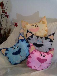 cica párna cat pillow Cojines gatos